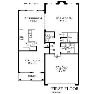 N bryce first floor