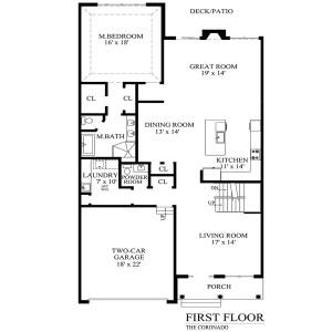 N coronado first floor
