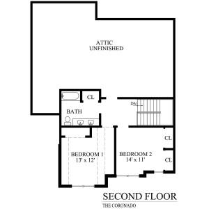 N coronado second floor